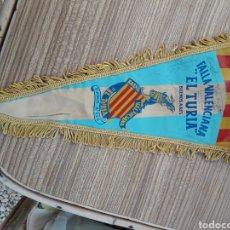 Banderines de colección: FALLAS VALENCIA BANDERIN BARCO FALLERO. Lote 128075970