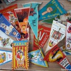 Banderines de colección: LOTE BANDERINES VALENCIA FALLAS.... Lote 128076158