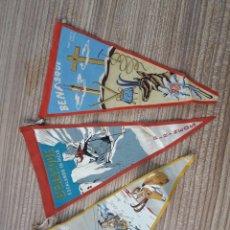 Banderines de colección: BANDERINES BENASQUE PIRENEO. Lote 128076326