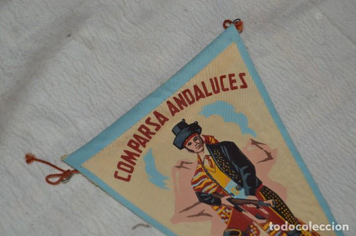 Banderines de colección: LOTE 2 BANDERINES FIESTAS ALCOY - AÑOS 60 - MUY BONITOS Y CURIOSOS - HAZ OFERTA - ENVÍO 24H - Foto 3 - 128099147