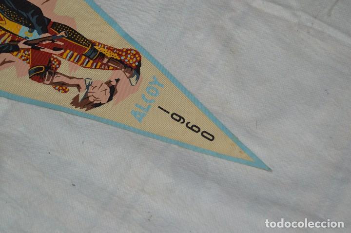 Banderines de colección: LOTE 2 BANDERINES FIESTAS ALCOY - AÑOS 60 - MUY BONITOS Y CURIOSOS - HAZ OFERTA - ENVÍO 24H - Foto 5 - 128099147