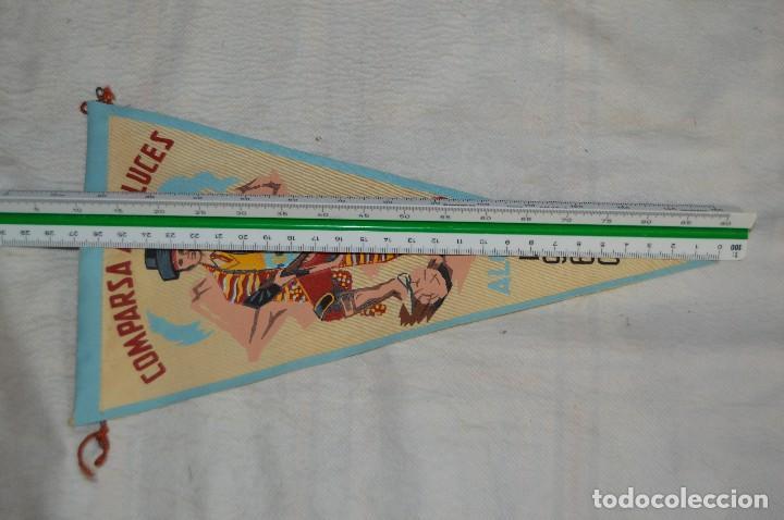 Banderines de colección: LOTE 2 BANDERINES FIESTAS ALCOY - AÑOS 60 - MUY BONITOS Y CURIOSOS - HAZ OFERTA - ENVÍO 24H - Foto 9 - 128099147