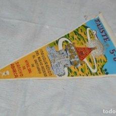Banderines de colección: ANTIGUO BANDERIN - TAUSTE - INAUGURACIÓN NUEVO ACCESO SANTUARIO N. SRA DE SANCHO ABARCA - ENVÍO 24H. Lote 128099467