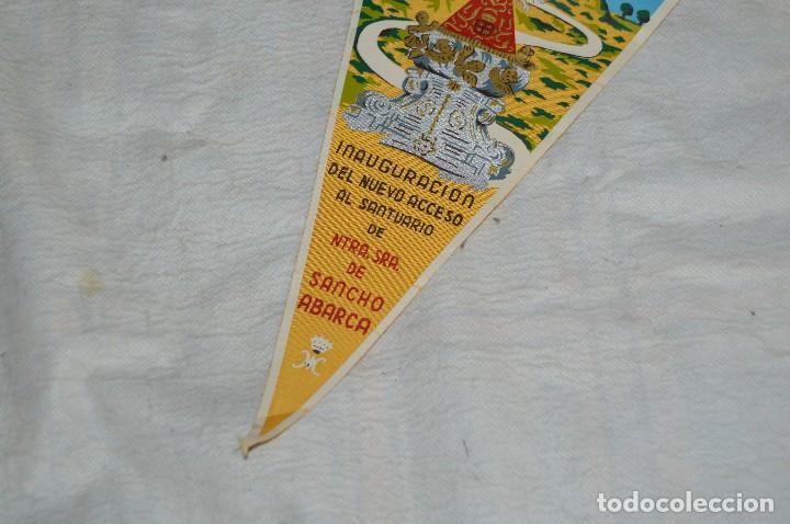 Banderines de colección: ANTIGUO BANDERIN - TAUSTE - INAUGURACIÓN NUEVO ACCESO SANTUARIO N. SRA DE SANCHO ABARCA - ENVÍO 24H - Foto 3 - 128099467