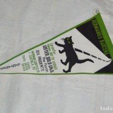 Banderines de colección: ANTIGUO BANDERIN - HERMANOS BARCENA - SANTANDER - LOS GATOS TIENEN SIETE VIDAS - ENVÍO 24H. Lote 128099807