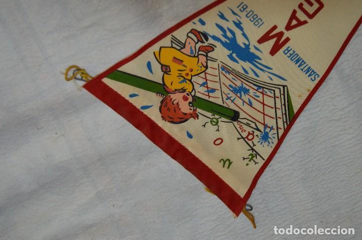 Banderines de colección: ANTIGUO BANDERIN - SANTANDER 1960, 61 - MAGISTERIO - HAZ OFERTA - ENVÍO 24H - Foto 2 - 128099979