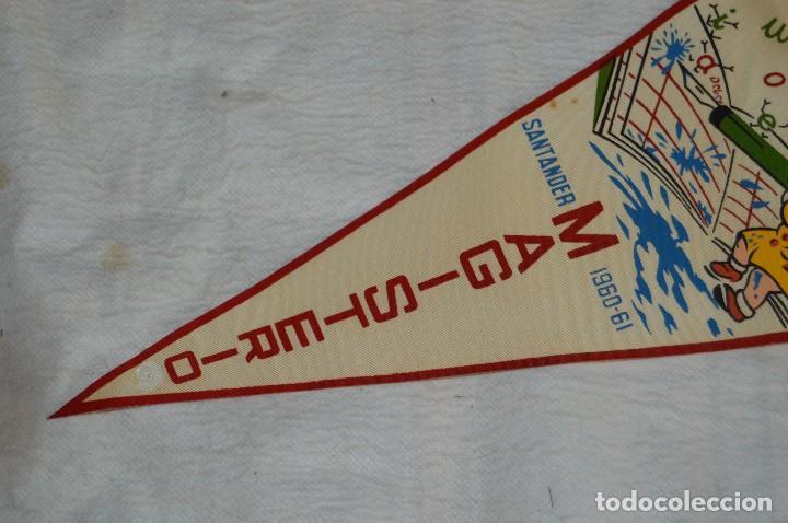Banderines de colección: ANTIGUO BANDERIN - SANTANDER 1960, 61 - MAGISTERIO - HAZ OFERTA - ENVÍO 24H - Foto 3 - 128099979
