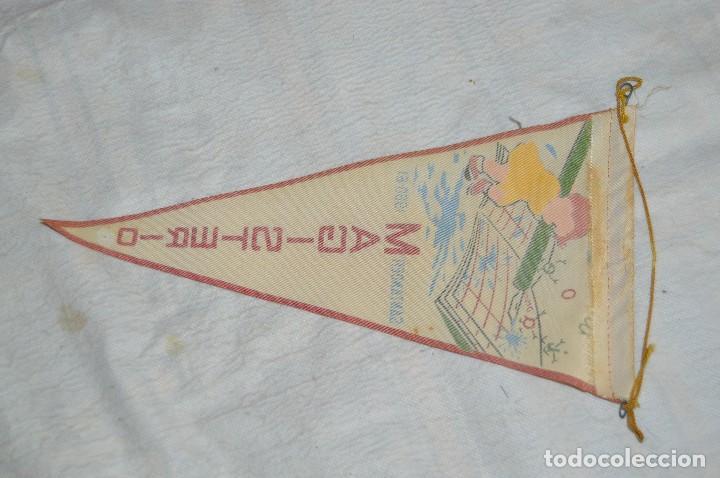 Banderines de colección: ANTIGUO BANDERIN - SANTANDER 1960, 61 - MAGISTERIO - HAZ OFERTA - ENVÍO 24H - Foto 4 - 128099979