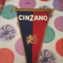 Banderines de colección: CINZANO. Lote 128852283