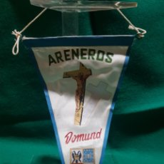 Banderines de colección: BANDERÍN ARENEROS DOMUND 1959. Lote 128904822