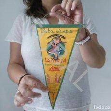 Banderines de colección: TUBAL BANDERIN VINTAGE GASEOSA SELECTA LA PITUSA AÑOS 50. Lote 128976483