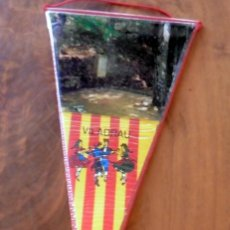 Galhardetes de coleção: BANDERÍN ANTIGUO - AÑOS 60/70 - VILADRAU. Lote 129251755