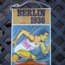 Banderines de colección: BANDERIN BIMBO. JUEGOS OLIMPICOS BERLIN 1936.. Lote 130504966