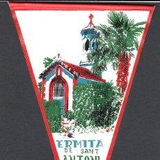 Banderines de colección: BANDERIN ERMITA DE SANT ANTONI - SEVA. Lote 131493814