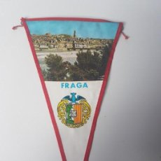 Banderines de colección: BANDERIN FRAGA ( ARAGON ). Lote 133648610