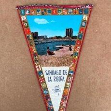 Banderines de colección: BANDERIN: SANTIAGO DE LA RIBERA (MURCIA). Lote 133648894
