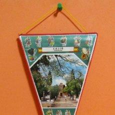 Banderines de colección: BANDERIN CALIG CASTELLON PLASTIFICADO MEDIDAS 15,5 X 28,5 CMS APROX. Lote 134980686