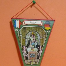 Banderines de colección: BANDERIN CALIG CASTELLON PLASTIFICADO MEDIDAS 15,5 X 28,5 CMS APROX. Lote 134980742