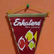 Banderines de colección: BANDERIN LA SEDA DE BARCELONA S.A. MEDIDAS 15 X 27,5 CMS APROX.. Lote 135042690