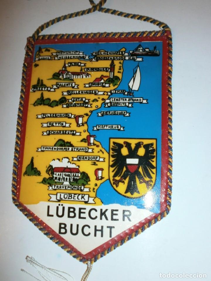 Banderines de colección: BANDERIN ALEMAN MALENTE LÜLECKER BUCHT - Foto 2 - 135438114