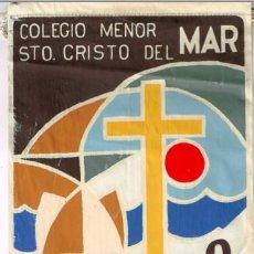 Banderines de colección: 6 BANDERINES ZARAGOZA CLUB DEPORTIVO S. FERNANDO,FED. PATINAJE),TARRAGONA,BENICARLO,BIESCAS,TARAZONA. Lote 136227246