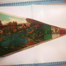 Banderines de colección: BANDERIN LAGO DI GARDA. Lote 136690630