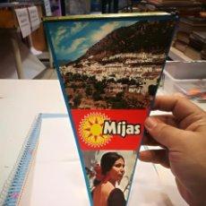Banderines de colección: BANDERIN MIJAS COSTA DEL SOL. Lote 136699098