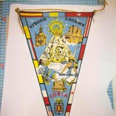 Banderines de colección: BANDERIO CORIO VIRGEN ARGEME. Lote 136709550