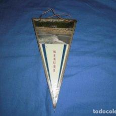 Banderines de colección: BANDERIN: NEGURI - COSTA VASCA - AÑOS 60 - 70. ORIGINAL.. Lote 136749018