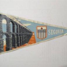 Banderines de colección: BANDERIN SEGOVIA. Lote 137726574