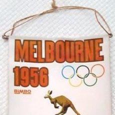 Banderines de colección: BANDERIN DE MELBOURNE - 1956 DE MEDIDAS 26 CTMS DE LARGO X 13 CTMS DE ANCHO -. Lote 137764342