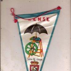 Banderines de colección: ANTIGUO BANDERIN ORENSE. Lote 138817282