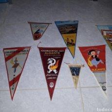 Banderines de colección: LOTE VARIADO BANDERINES AÑOS 70. Lote 138989344