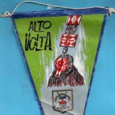 Banderines de colección: BANDERIN DE TELA DE ALTO VOLTA. Lote 139943778