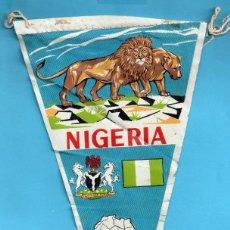 Banderines de colección: BANDERIN DE TELA DE NIGERIA . Lote 139944082