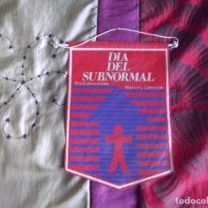 Banderines de colección: BANDERINES-ESPAÑA-PUBLICIDAD Y TEMATICA-MATARO-20X14CM. Lote 140503342