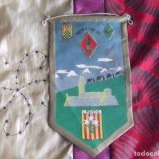 Banderines de colección: BANDERINES-ESPAÑA-PUBLICIDAD Y TEMATICA-LERIDA-GRUPO A LOMO XLI-24X14CM. Lote 140504050