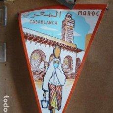 Banderines de colección: BANDERIN CASABLANCA. Lote 142242834