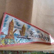 Banderines de colección: BANDERIN LONDON. Lote 142245178
