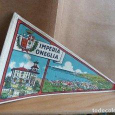Banderines de colección: BANDERIN IMPERIA ONEGLIA. Lote 142245434