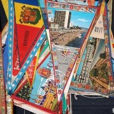 Banderines de colección: COLECCIÓN DE 40 BANDERINES ANTIGUOS. Lote 142307221