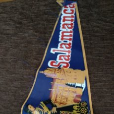 Banderines de colección: BANDERÍN DE SALAMANCA CON LA CHARRA. Lote 142841800