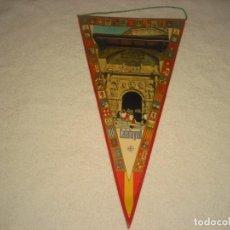 Banderines de colección: ANTIGUO BANDERIN DE CALATAYUD.. Lote 142718546