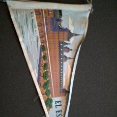 Banderines de colección: BANDERÍN DEL MONASTERIO DEL ESCORIAL. Lote 143857708