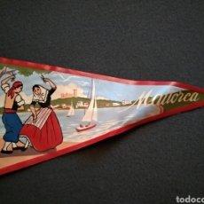 Banderines de colección: BANDERÍN DE MALLORCA. AÑOS 50.. Lote 143857914