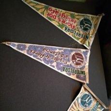 Banderines de colección: BANDERINES INTERFLORA. AÑOS 50. Lote 143858398