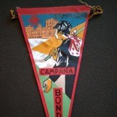 Banderines de colección: BANDERÍN BONDAD CAMPAÑA SEMINARIO. AÑOS 50.. Lote 143858913