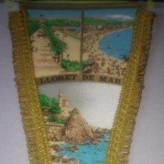 Banderines de colección: BANDERIN ORLADO DE LLORET DE MAR.. Lote 143958501