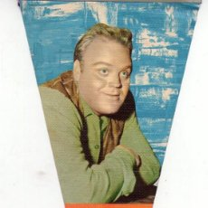 Banderines de colección: DAN BLOCKER *** BONANZA *** EDICIONES MANDOLINA 1964. Lote 144651726