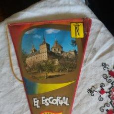 Banderines de colección: ANTIGUO BANDERIN DEL ESCORIAL. Lote 145161668